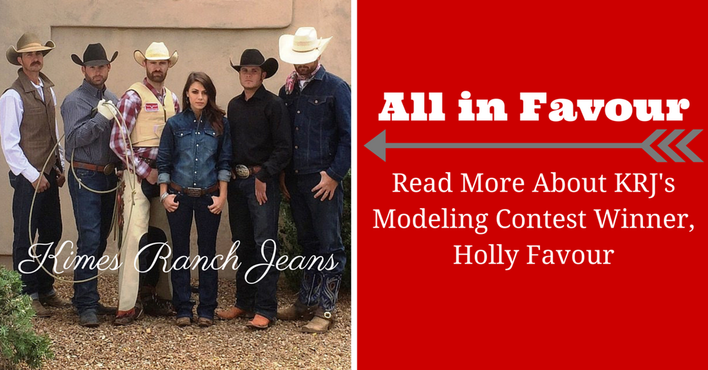 All in Favour  Learn More about KRJ's Modeling Contest Winner, Holly Favour