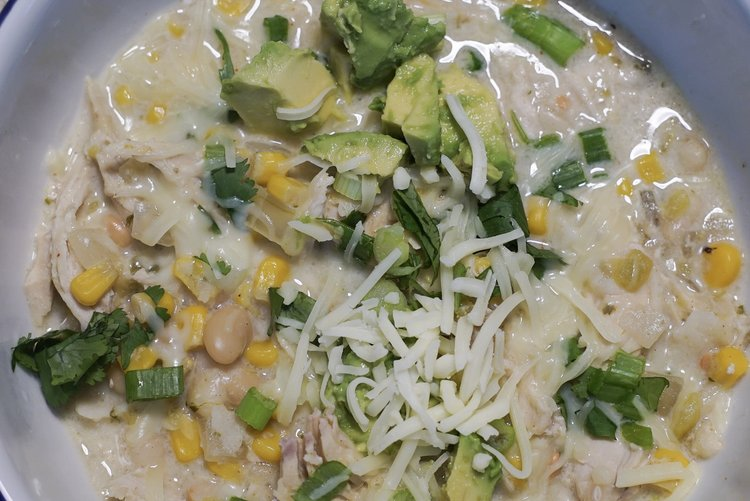 Cooking With Kimes: Easy Slow Cooker Chicken Chili