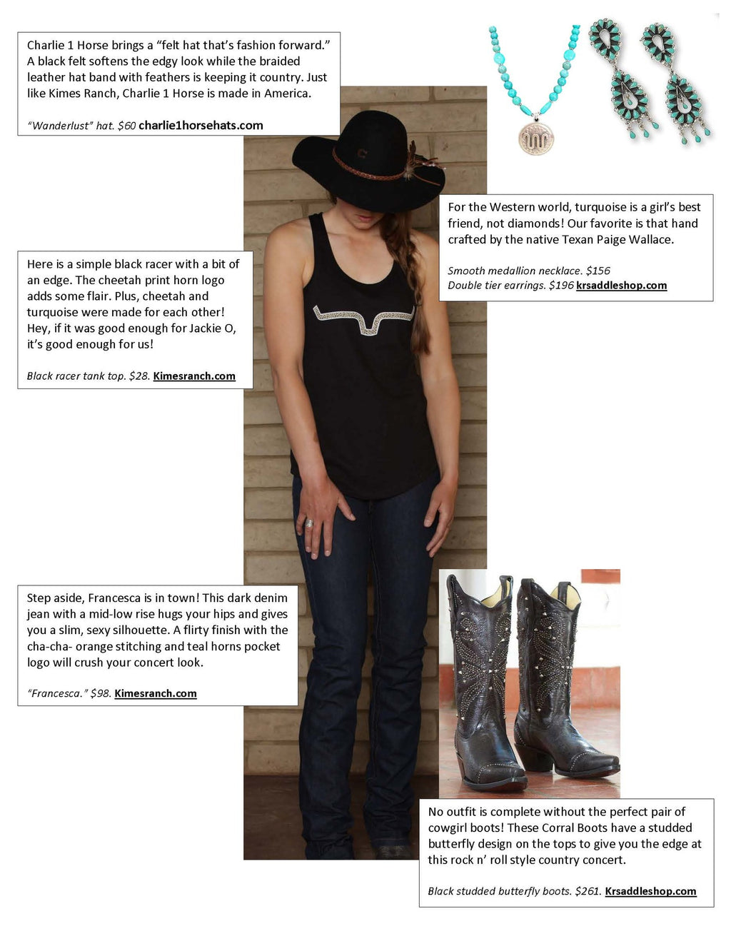 How to Rock your Country Concert Style