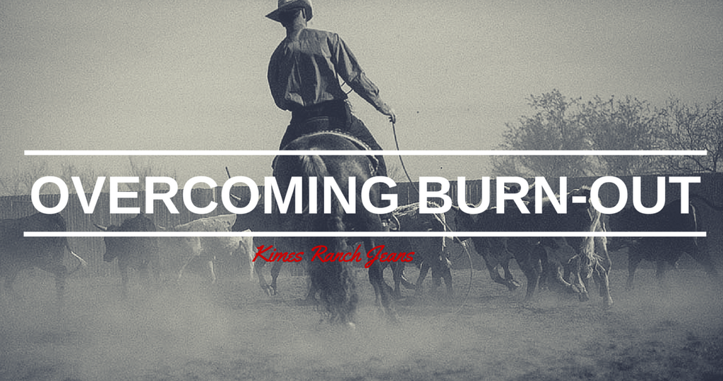 Overcoming Burn-out