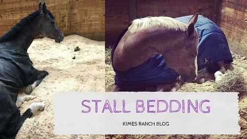 Stall Bedding How To's