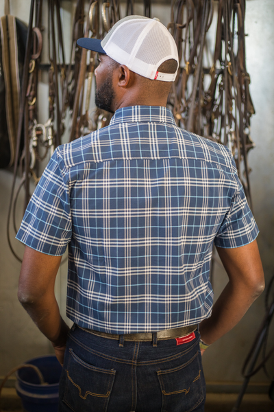 Pinehurst Plaid Short Sleeve