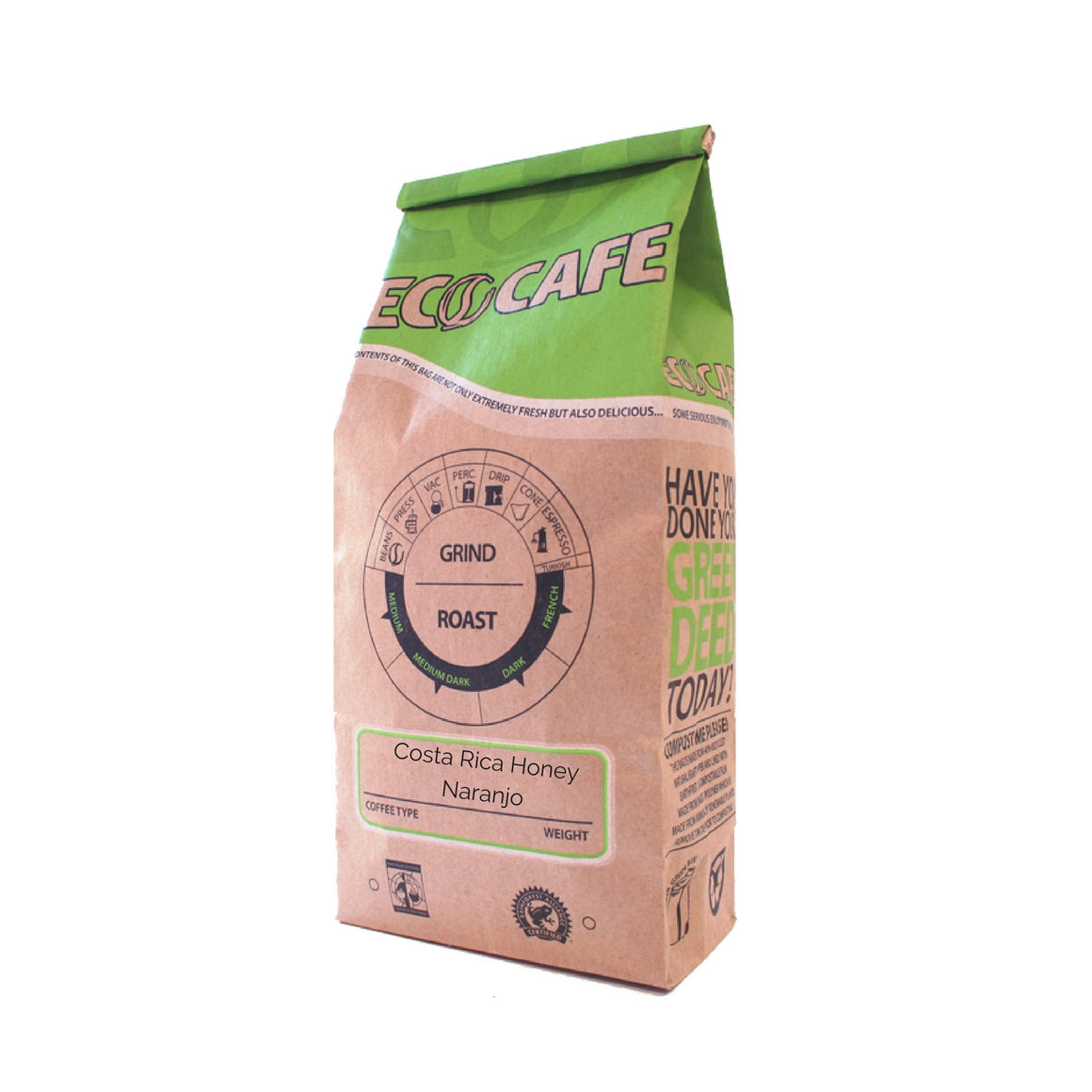 Costa Rica Honey Naranjo 12oz (340g)