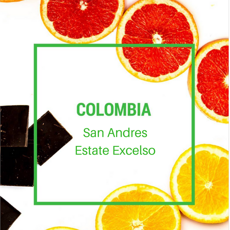 Colombia San Andres Excelso - 1lb - Green Coffee