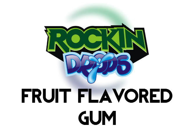 RockinDrops Fruit Flavored Gum Food Flavoring