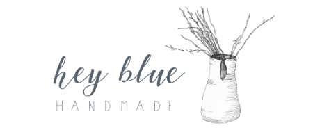 Hey Blue Handmade