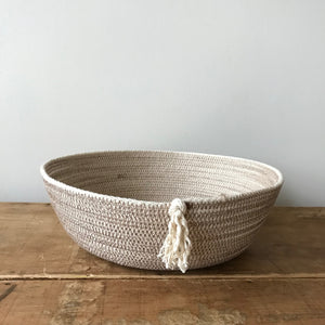Contrast Stitch Bowl