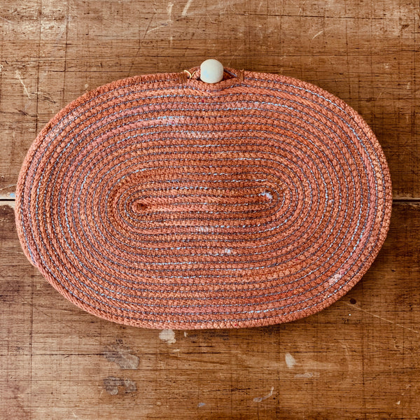 Oval Holiday Clutch