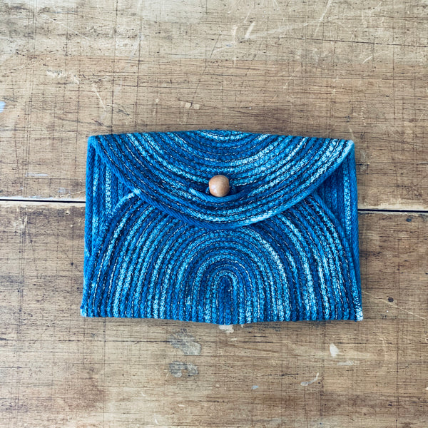 Holiday envelope clutch - small
