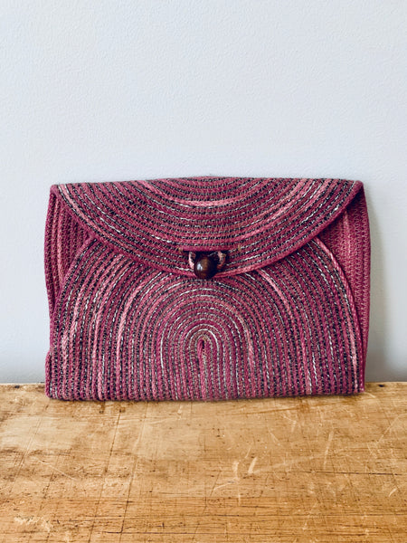 Holiday envelope clutch - large