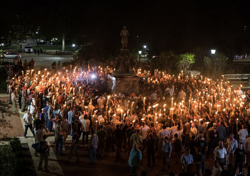 March of white supremacists at University of Virginia ends in skirmishes