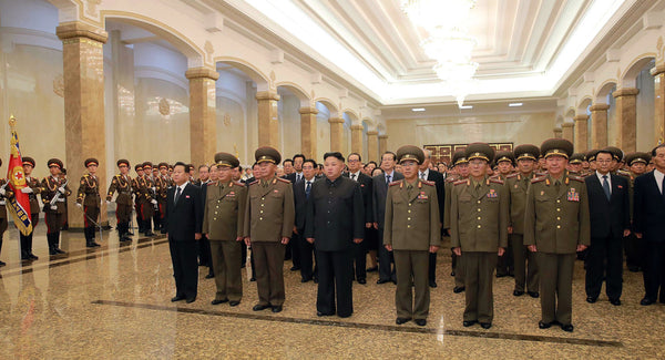 North Korean military presents plan for Guam strike