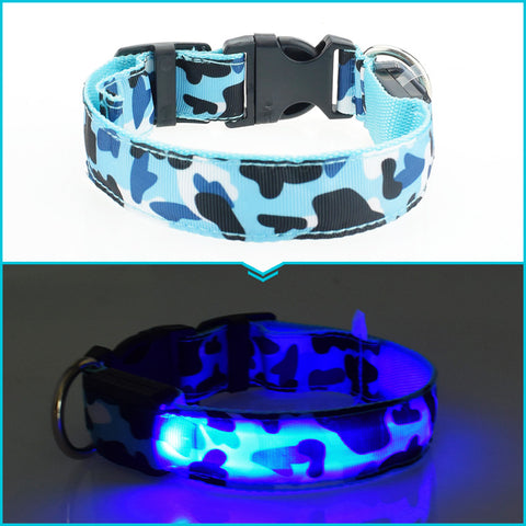 Flexible length 35-60cm LED lamp dog collar