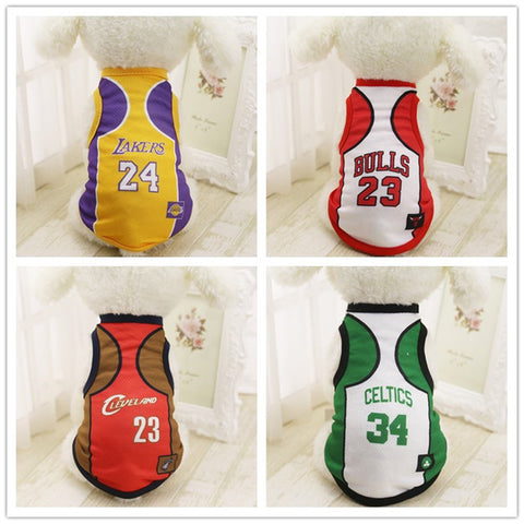 Dog Basketball Jersey