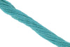 "Blue Amazonite 3mm Faceted Rounds 13"" Bead Strand"
