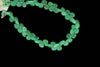 Apple Green Chrysoprase 5mm Faceted Heart Shaped Briolettes