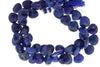 Royal Blue Lapis Lazuli 12mm Faceted Heart Shaped Briolettes