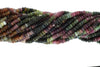 Watermelon Tourmaline 5mm Faceted Rondelles