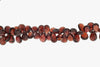 Red Garnet 12x9mm Faceted Pear Shaped Briolettes