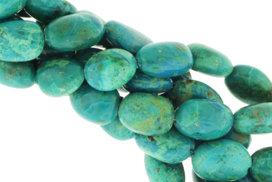 Blue Green Chrysocolla 10x8mm Smooth Nuggets