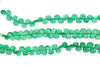 Green Onyx 8mm Faceted Heart Shaped Briolettes