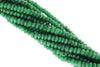 Green Emerald 4mm Faceted Rondelles