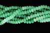 Ombre Chrysoprase 8mm Smooth Rondelles