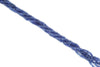 "Cornflower Blue Sapphire 3mm Smooth Rondelles 16"" Bead Strand"