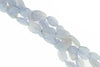 Natural Blue Chalcedony 16x12mm Faceted Ovals