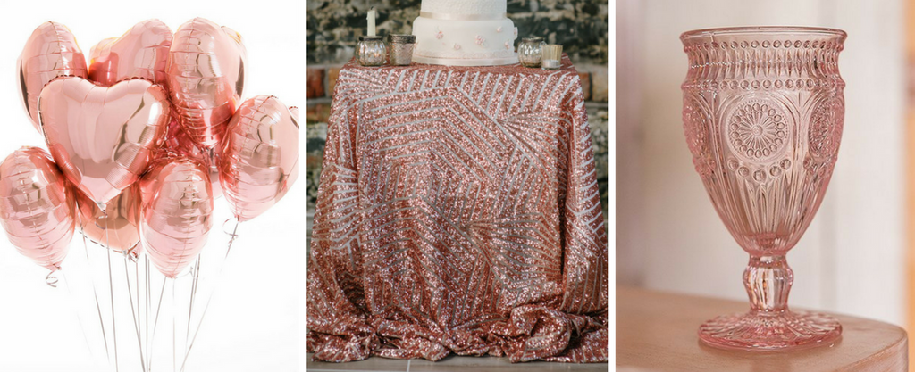 7266fcc1313 You can throw her a rose gold themed bridal shower. Yes