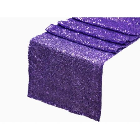 Purple Sequin Runner