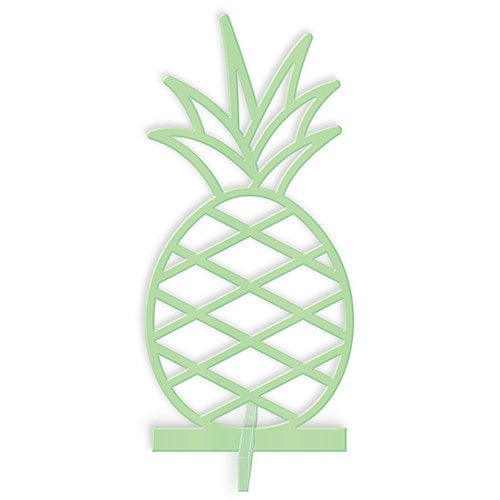 Tropical Pineapple Tabletop Decoration