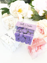20 Personalized Acrylic Favor Boxes