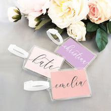 Personalized Luggage Tags (set of 6)