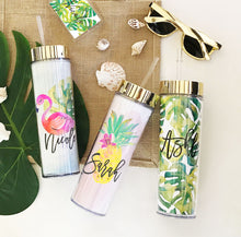 6 or More Tropical Beach Tumblers