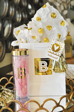 Metallic Gold Monogram Tumbler