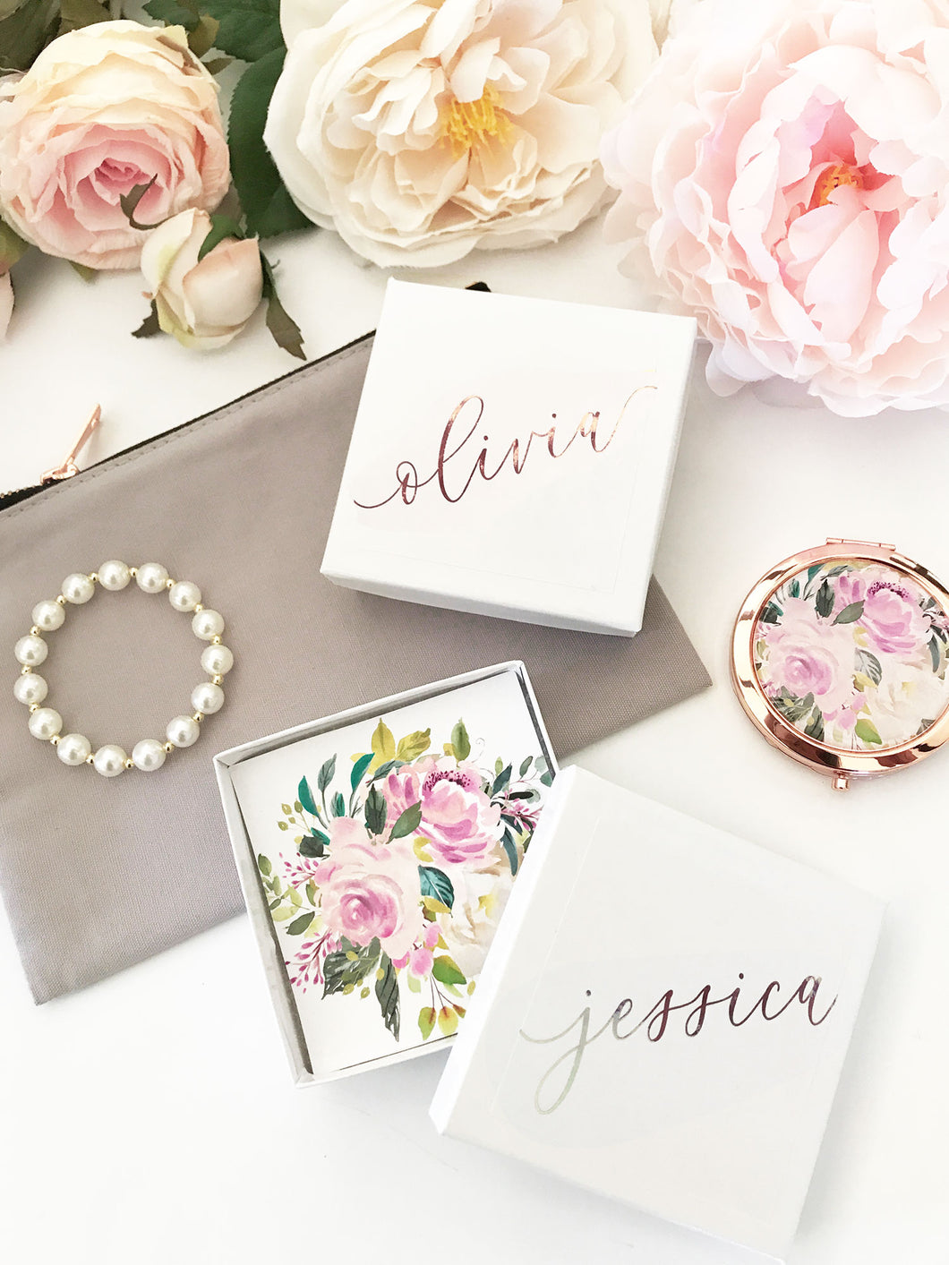 6 Personalized Jewelry Gift Boxes