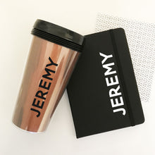 Personalized Coffee Tumbler For Groomsmen