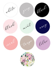 6 or More Personalized Pastel Compacts
