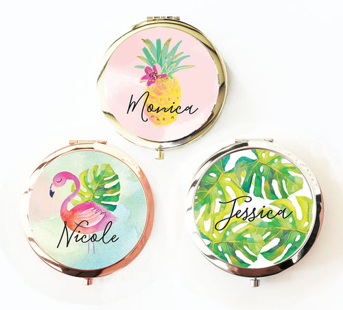 6 or More Personalized Tropical Compacts