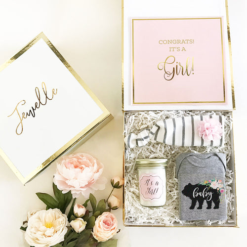 It's a Sweet Baby Girl Gift Box