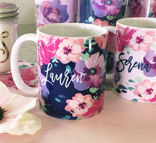 Floral Coffee Mugs