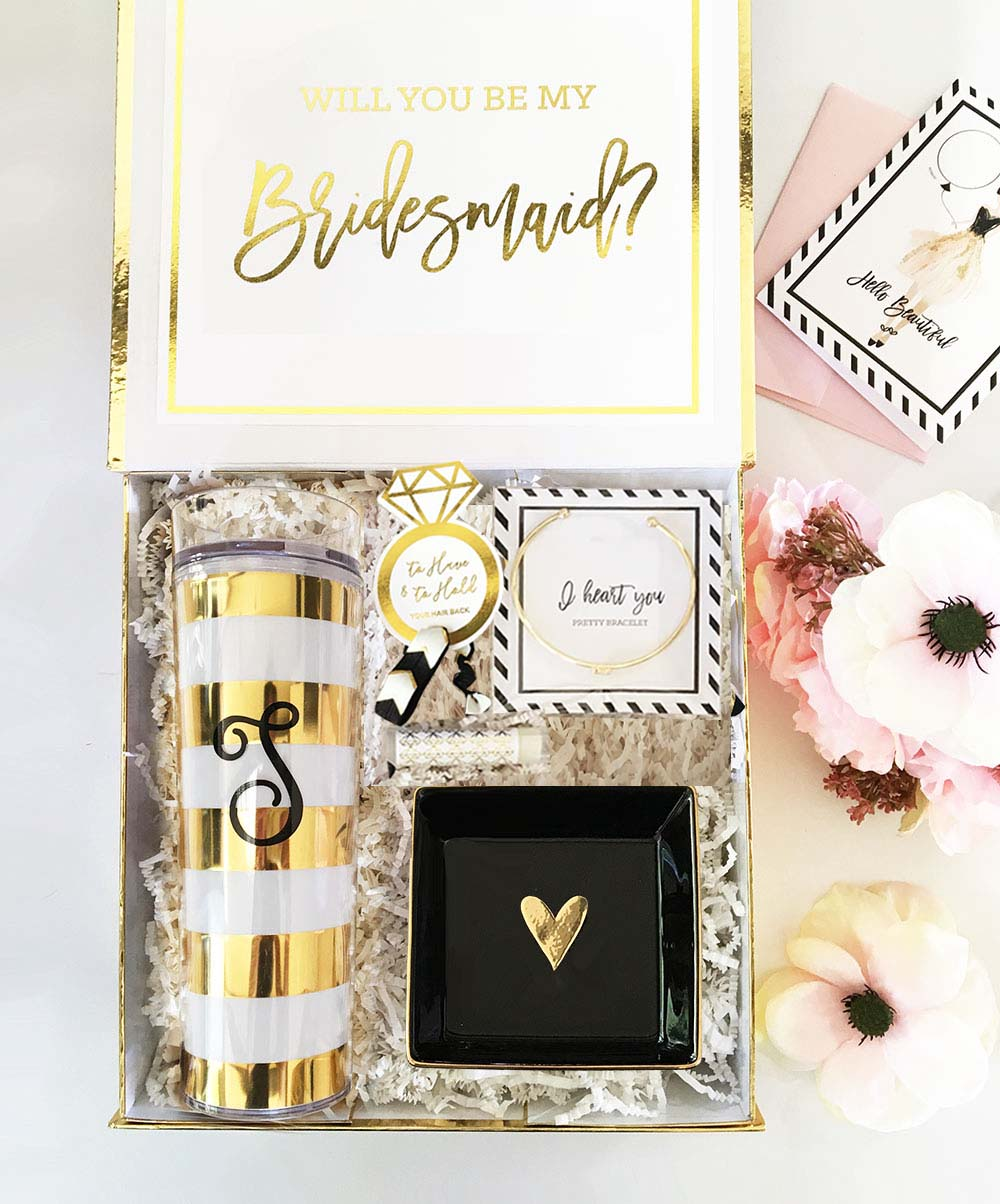 Shimmer & Shine Bridesmaids Gift Box