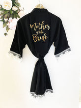 Sweet Bride Lace & Cotton Robe