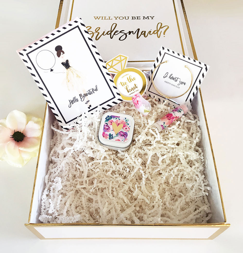 Create Your Own Cute Bridesmaids Box