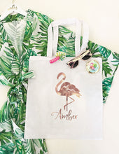 Personalized Tropical Totes