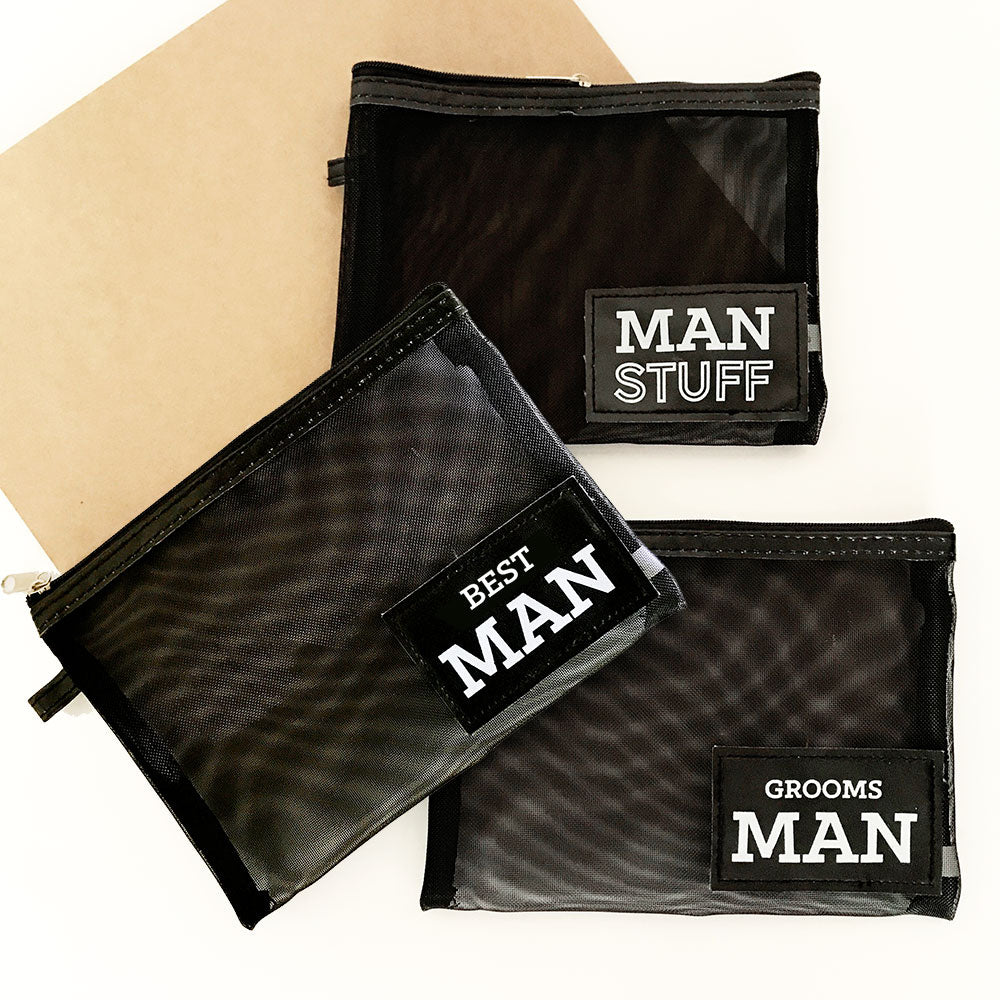 Groomsman Men's Accessory Bags
