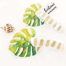 6 Personalized Tropical Hair Ties