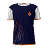 ECS Navy & White Flame Tee - ECS Official Store