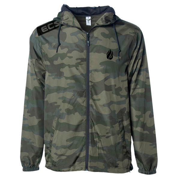 EU EXCLUSIVE - ECS Slant Windbreaker - Camo - ECS Official EU Store